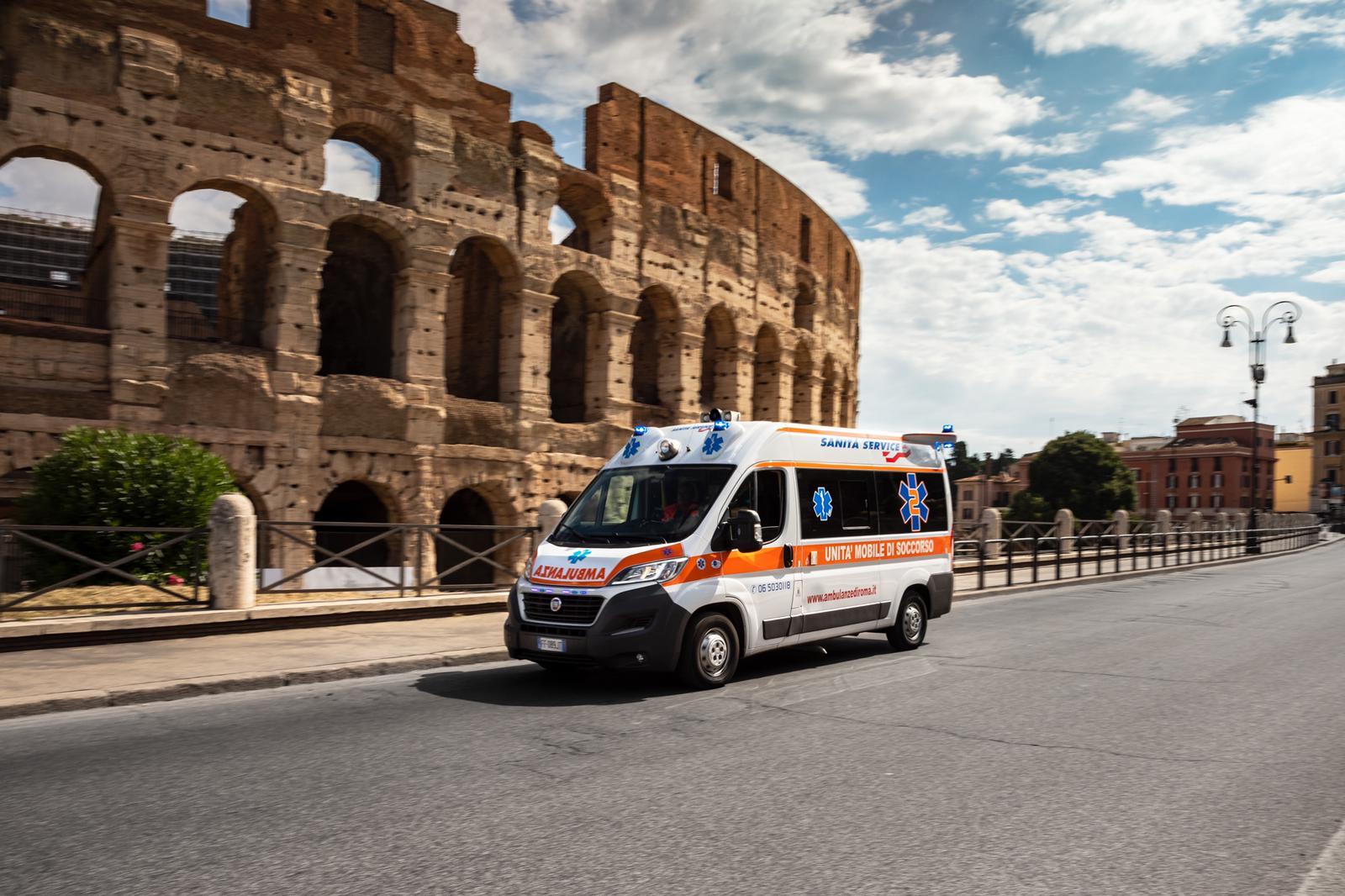 Ambulanze private economica Roma